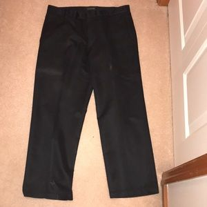 Black men's dress pants